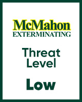Low level threat dictated by McMahon Exterminating